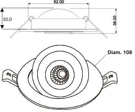 Ampoule SKA - Dessin